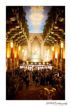 Wedding At Fox Theater In St Louis
