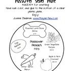 Passover (Pesach) Seder plate: GREAT for crafting with kids!