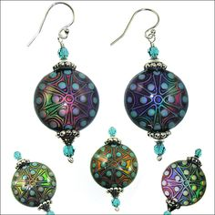 Stargazer Mood Bead Earrings | Jewelry Design Ideas