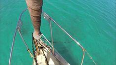 Sailboat Story - Anchoring Under Sail At Ten Bay Beach, Eleuthera Diesel Engine, Sailboat, Sailing Ships, Beach, Blog, Sailing Boat, Sailboats, Seaside, Blogging