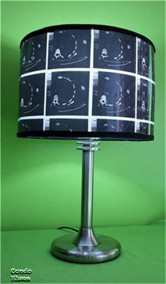 I don't know why I like this so much, but I do....How to Make an X Ray Lampshade