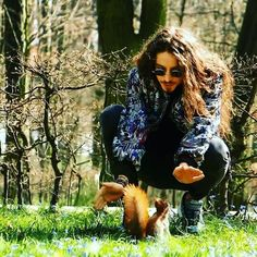 Michal Szpak with a cute squarrell