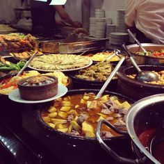 instanbulEatsTour: Beyoglu: at TK, Lokanta lunch: everything is ready 4 dish up, fast service, home-style cooking