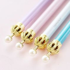 Crown Mechanical Pencil • Crown Pen Genuine M&G Brand Mechanical Pencil • Cute…