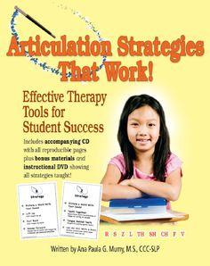 Articulation Strategies That Work! #articulation