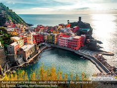 Liven up your screen with the scenic beauty of Vernazza, a small town in Italy.