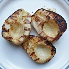Fruit on the Grill   Pears on the Grill Make an Amazing Dessert: Grilled Pears