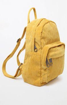676c01aeeb6c La Hearts Corduroy Mini Backpack - Mustard 1Sz Mini Backpack