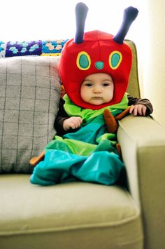 Hungry Caterpillar costume! I love this! #WorldEricCarle #HungryCaterpillar