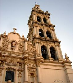 Cathedral, downtown Monterrey, Mexico.