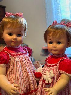Ideal Toys, Daddys Girl, Vintage Dolls, Beautiful Dolls, Baby Dolls, Flower Girl Dresses, Play, Friends, Wedding Dresses