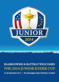The Junior Ryder Cup came to Blairgowrie in September 2014!