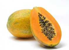 Sometimes referred to as a tree melon, the papaya is native to southern Mexico and Central America. Papaya was introduced to Hawaii in the early and today it is the only state that commercially grows this fruit, touted for … Continue reading → Home Remedies For Acne, Natural Home Remedies, Herbal Remedies, Lima Fruit, Superfoods, Papaya Facial, Moringa Oleifera, Natural Remedies, Fruit Displays
