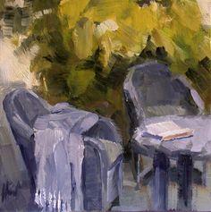 https://flic.kr/p/7RBWkQ | Spring Delight | oil on canvas  panel 15 cm x 15 cm   Liza Hirst
