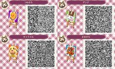 Animal Crossing New Leaf - Characters QR