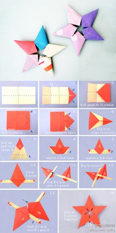 origami: double star