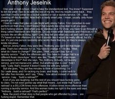 Anthony Jeselnik on Humor and Offense | Nobody Goes Here