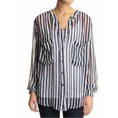 Great everyday shirt!    MINKPINK Candyman Stripped Top at Piperlime