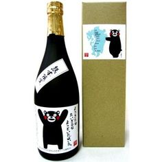 Aha, I found the name @Sarah Reynolds Here's Kumamon sweet potato shochu #packaging : ) PD