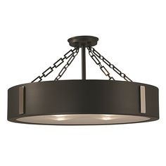 Framburg 2416 CH/PN Oracle Charcoal w/ Polished Nickel Accents 23 in. Four-Light Semi-Flush Mount in Charcoal/Polished Nickel Accents Black Semi Flush Lighting, Semi Flush Ceiling Lights, Flush Mount Ceiling, Ceiling Lighting, Ceiling Fixtures, Ceiling Fans, Dispersion Of Light, Glass Diffuser, Bedroom Lighting