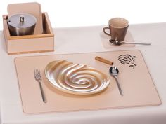 Wedding Table Placemat White Rose Mat Recycled Leather Dining Set Place Mats And Coasters Gift For Her