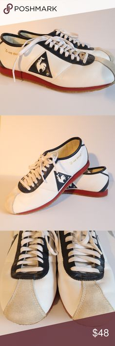 """Unisex Le Coq Sportif Wendon Leather Running Shoes Le Coq Sportif """"Wendon"""" vintage style running shoes. In excellent pre-owned condition, have very minor signs of wear, all as pictured. Some mild wrinkles in leather, not really visible once they are put on the foot. Men's Eur Size 39 / US 6.5 (please check your current shoes to match to a European size 39). Women's Eur Size 39 / US 8 I am open to offers in my closet, thank you for looking! Le Coq Sportif Shoes Athletic Shoes"""