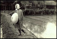 THE FARMER  AND HIS FIELD -- A Character Study in OLD JAPAN by Okinawa Soba, via Flickr, ca 1915-23
