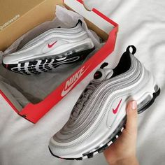 d8390d38e6ed Nike Air Max 97 Mtlc Slv Var Red - Hers trainers