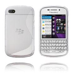 S-line (Läpikuultava) BlackBerry Suojakuori Blackberry Q10, Phone, Cover, Telephone, Mobile Phones