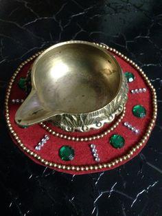 Rangoli for diyas