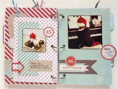 December Daily de Noussa - jours 15 et 16 - kit Swirlcards