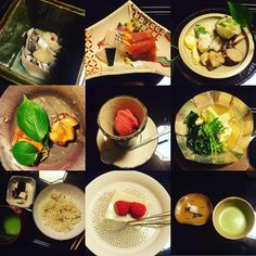 When a restaurant gets #two #michelinstars  they must be doing something right !!! #kaiseki style #dinner at Roan Kikunoi #foodietravels #kyoto #2016 by addicted_freshlybaked