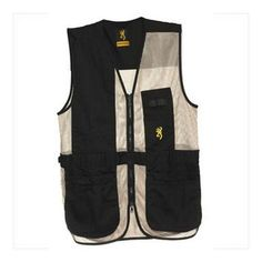 Browning Trapper Creek Vest, Black/Tan, 3X-Large   http://huntinggearsuperstore.com/product/browning-trapper-creek-vest/?attribute_pa_color=black-tan&attribute_pa_size=3x-large