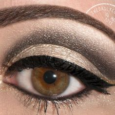 Blk/brown eye pencil for crease then blend