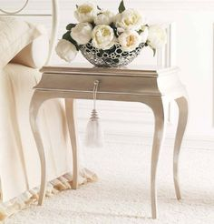 Classic style bedside table RENE GIUSTI PORTOS
