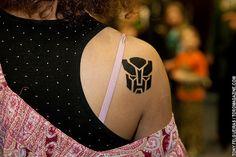 Toronto ComiCon 2012 - Transformers Tattoo by TonyFelgueiras, via Flickr
