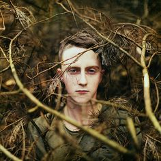 he was a boy from the wild woods and the trees bent over him like a mother - Peter Pan