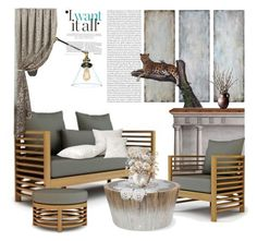 """""""Untitled #7000"""" by ana-angela ❤ liked on Polyvore featuring interior, interiors, interior design, home, home decor, interior decorating, Uttermost and Palecek"""