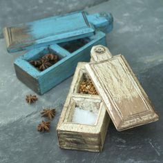 Reclaimed Spice Boxes