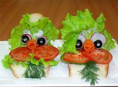 Food Art (идеи оформления еды)