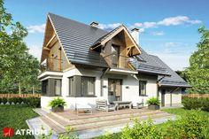 Projekt Ewa III - elewacja domu
