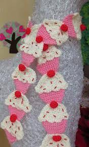 cupcakes crochet - Buscar con Google