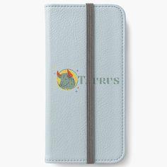 'Taurus' iPhone Wallet by repeat art Diy Wallet, Iphone Wallet Case, Iphone 6, Iphone Cases, Taurus, Cotton Tote Bags, Repeat, Card Holder, Printed
