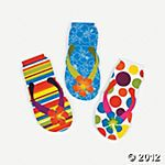 24 flip flop notepads for $6.25= 27 cents each
