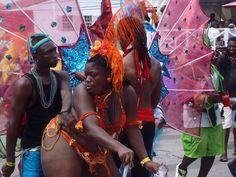 Twerking in the street! Grand Kadooment in Bridgetown, Barbados
