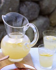 """""""Lemon Drops on the Rocks"""" . . . Recipe: http://www.marthastewart.com/313071/lemon-drops-on-the-rocks"""