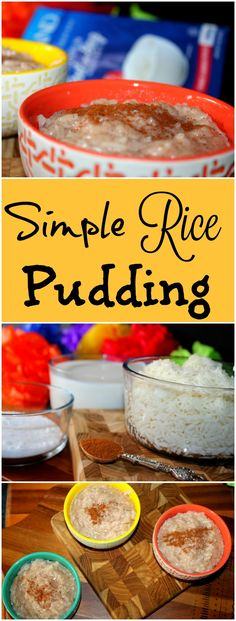 Simple Rice Pudding
