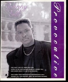 Johnny Gill - Provocative (Vibe September 1993)