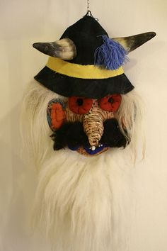 Romanian traditional mask Head Mask, Romania, Folk, Costumes, Traditional, Cool Stuff, Brussels, Illustration, Popular
