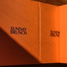Packaging Design | Sunday Brunch Scarves